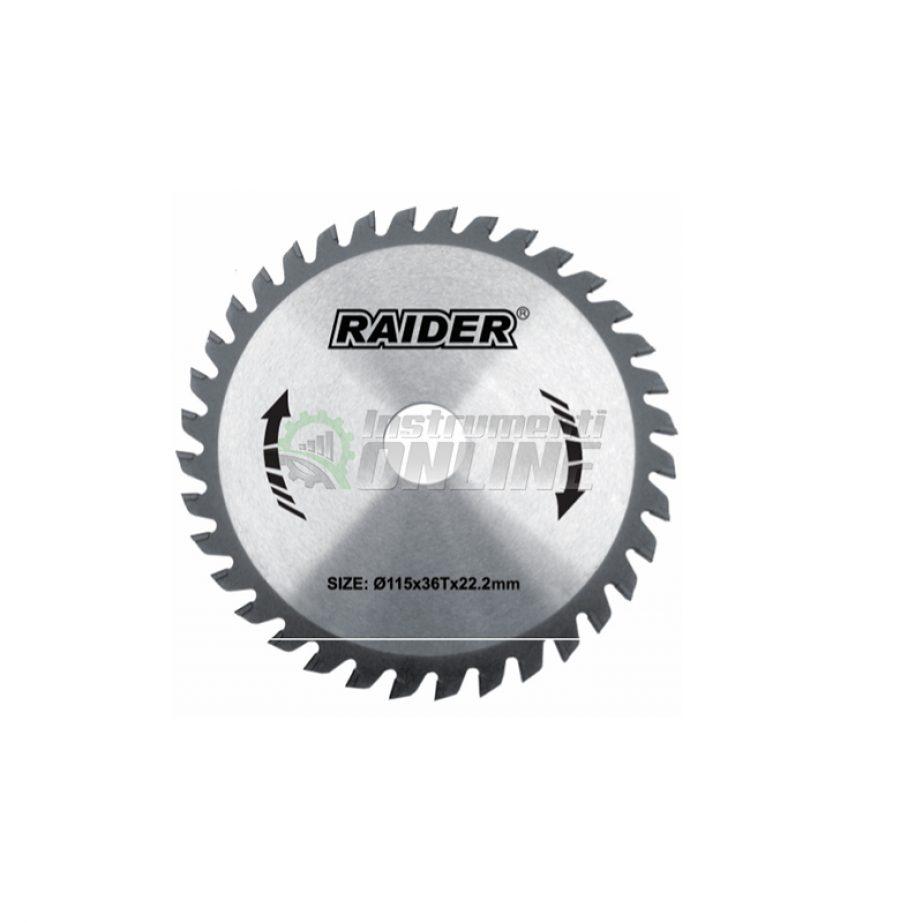 Диск за циркуляр, Диск, за циркуляр, Диск за циркуляр Raider, Raider, диск за дърво, RD-SB02