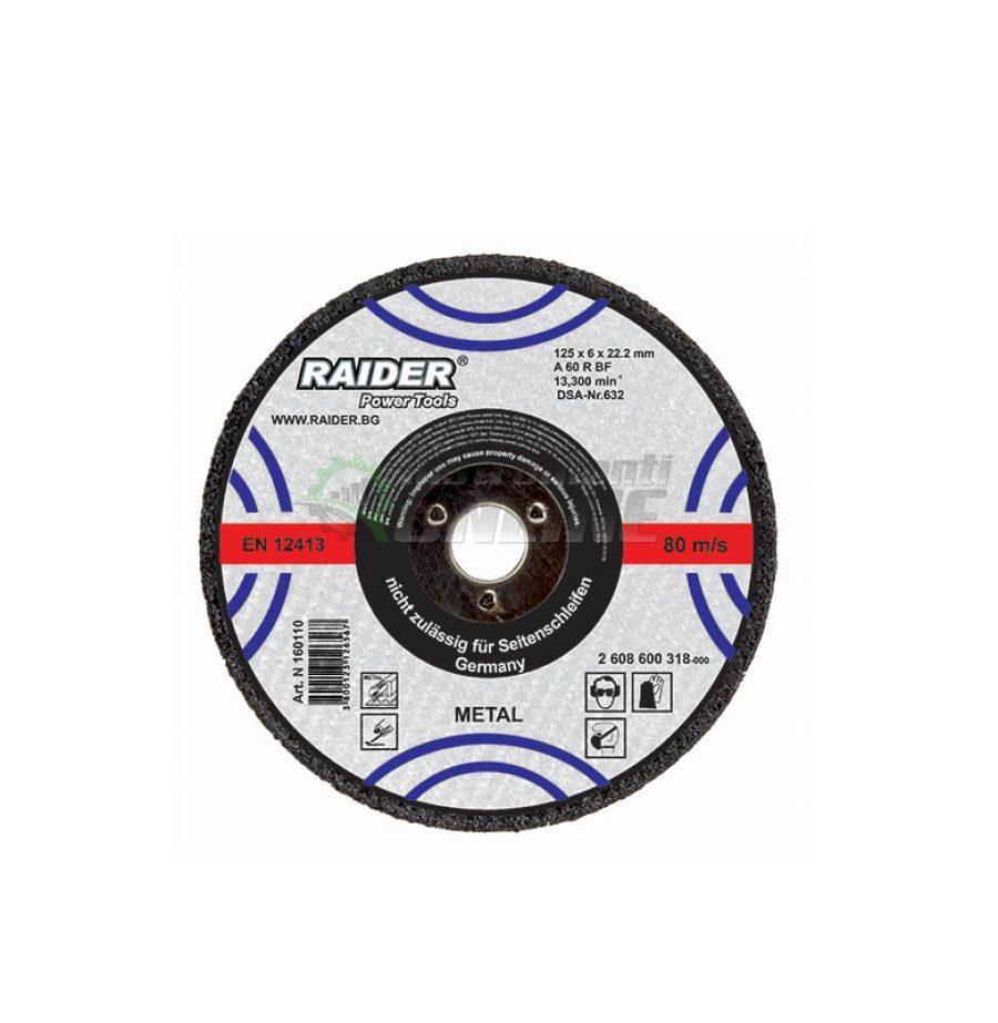 Диск за метал, диск за ъглошлайф, диск raider, 355 х 3.2 х 25.4 мм, Raider