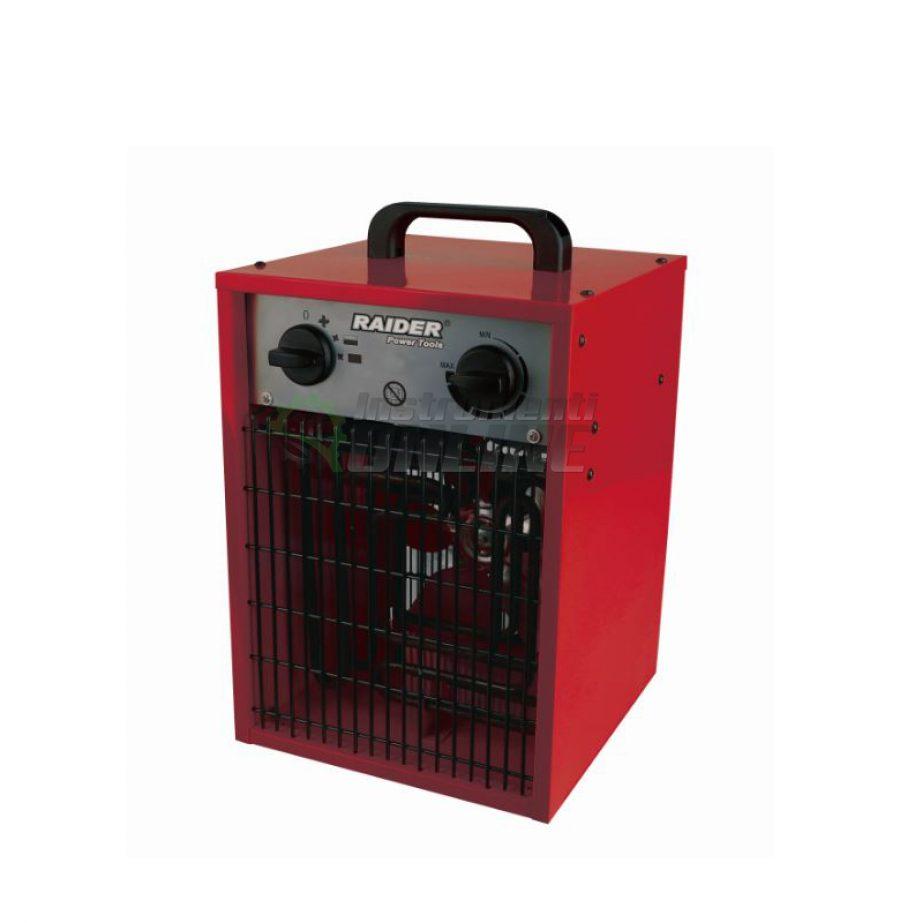 Електрически, калорифер, 2kW, RD-EFH02, Raider, електрически калорифер, калорифер 2kw
