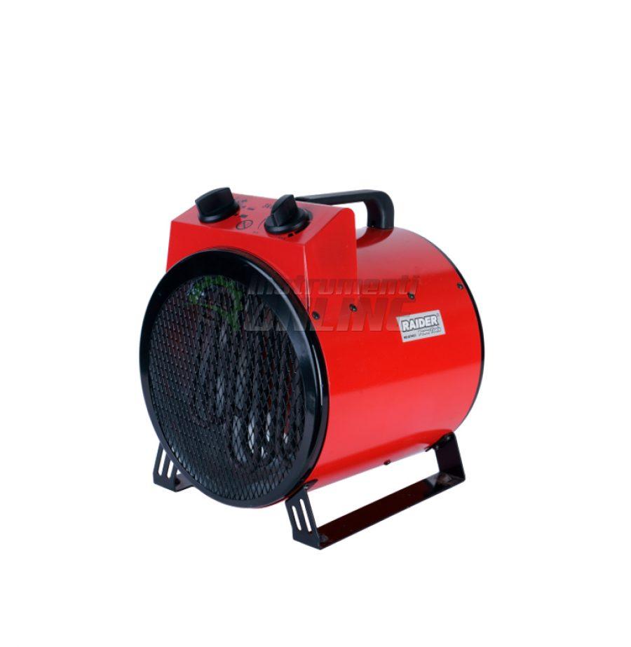 Eлектрически, калорифер, 3kW, RD-EFH03, Raider, електрически калорифер, калорифер 3k
