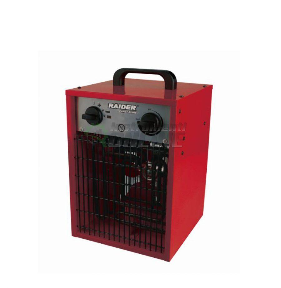Електрически, калорифер, 5kW, RD-EFH05, Raider, електрически калорифер, калорифер 5kw