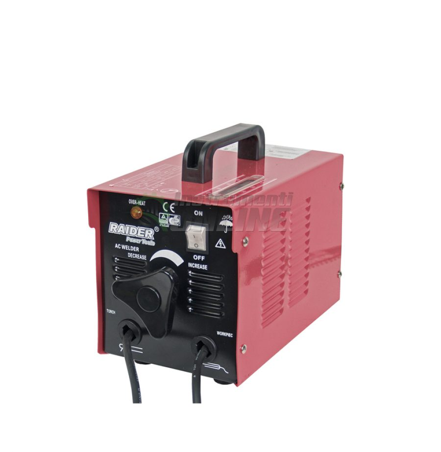 Електрожен, 100A, RD-WM17, Raider, електрожен 100А