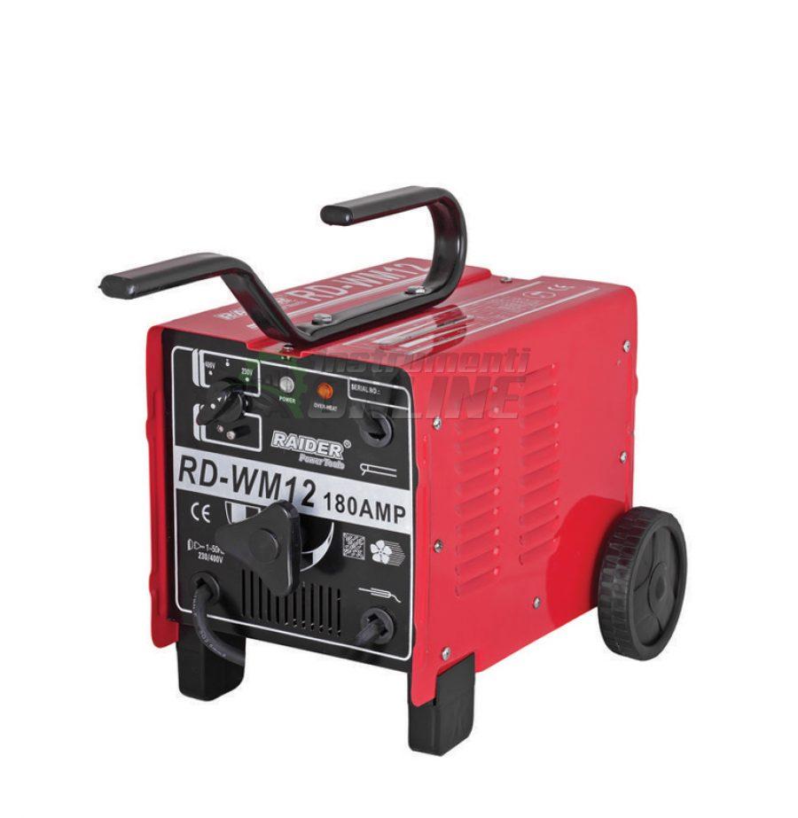 Електрожен, 180A, RD-WM12, Raider, електрожен 180А