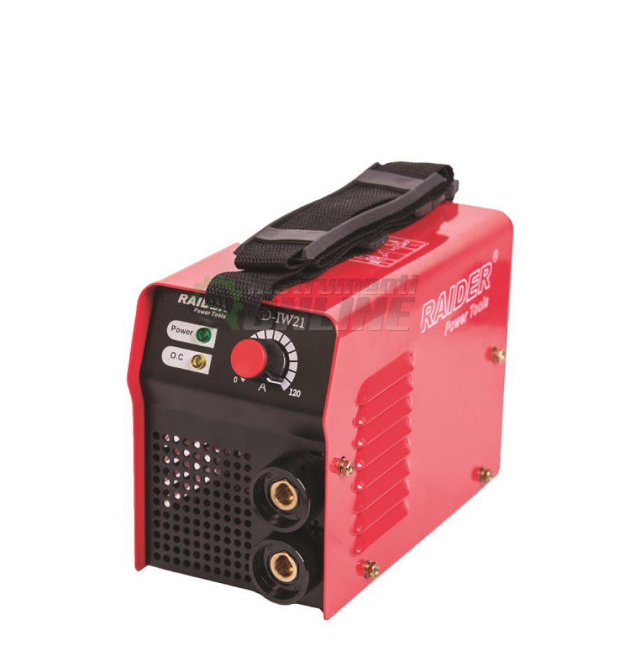 Електрожен, инвертор, 120A, RD-IW21, Raider, инверторен електрожен