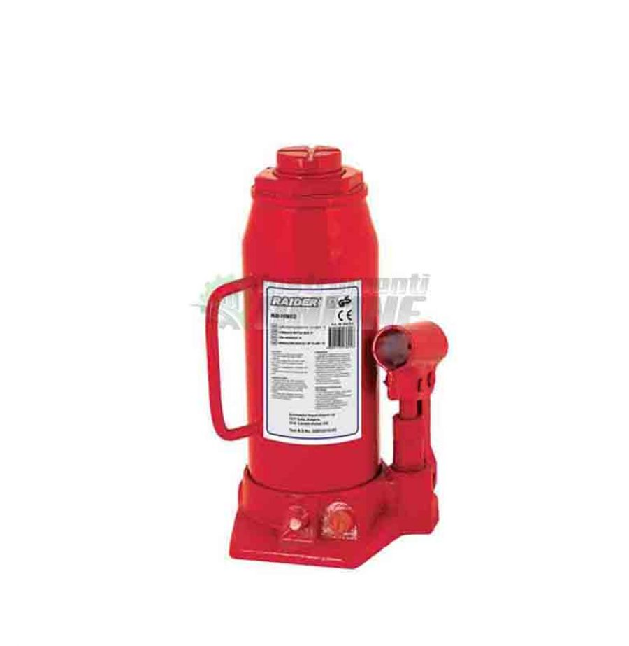 Хидравличен, крик, тип бутилка, 4 тона, RD HB04, Raider, хидравличен крик, крик тип бутилка