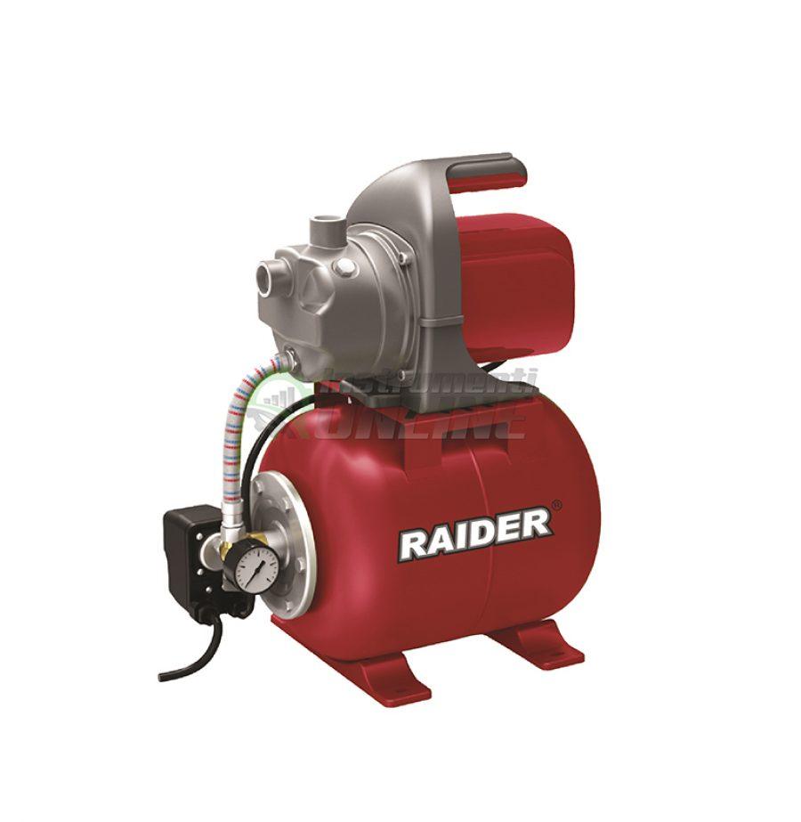 """хидрофорни помпи, Хидрофорна, помпа, 1200 W, 1"""", max 64, 3 bar, RD-WP120J, Raider"""