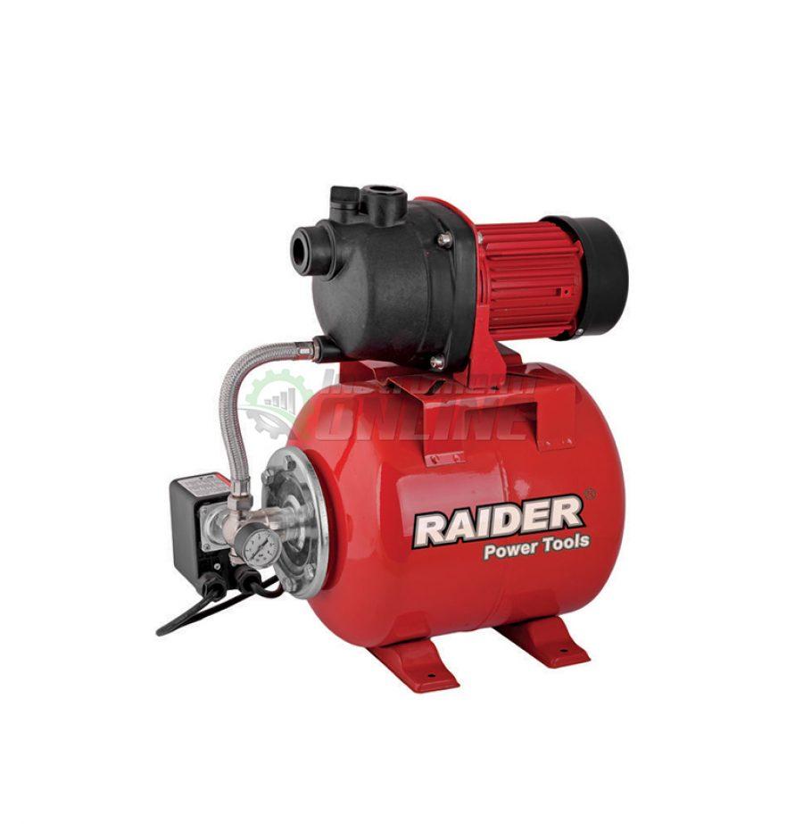 """Хидрофорна, помпа, 800 W, 1"""", max 50, 3 bar, RD-WP800J, Raider"""