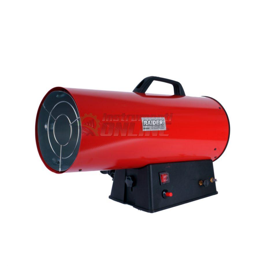 Калорифер, на газ, 15kW, RD-GH15, Raider, газов калорифер, калорифер на газ