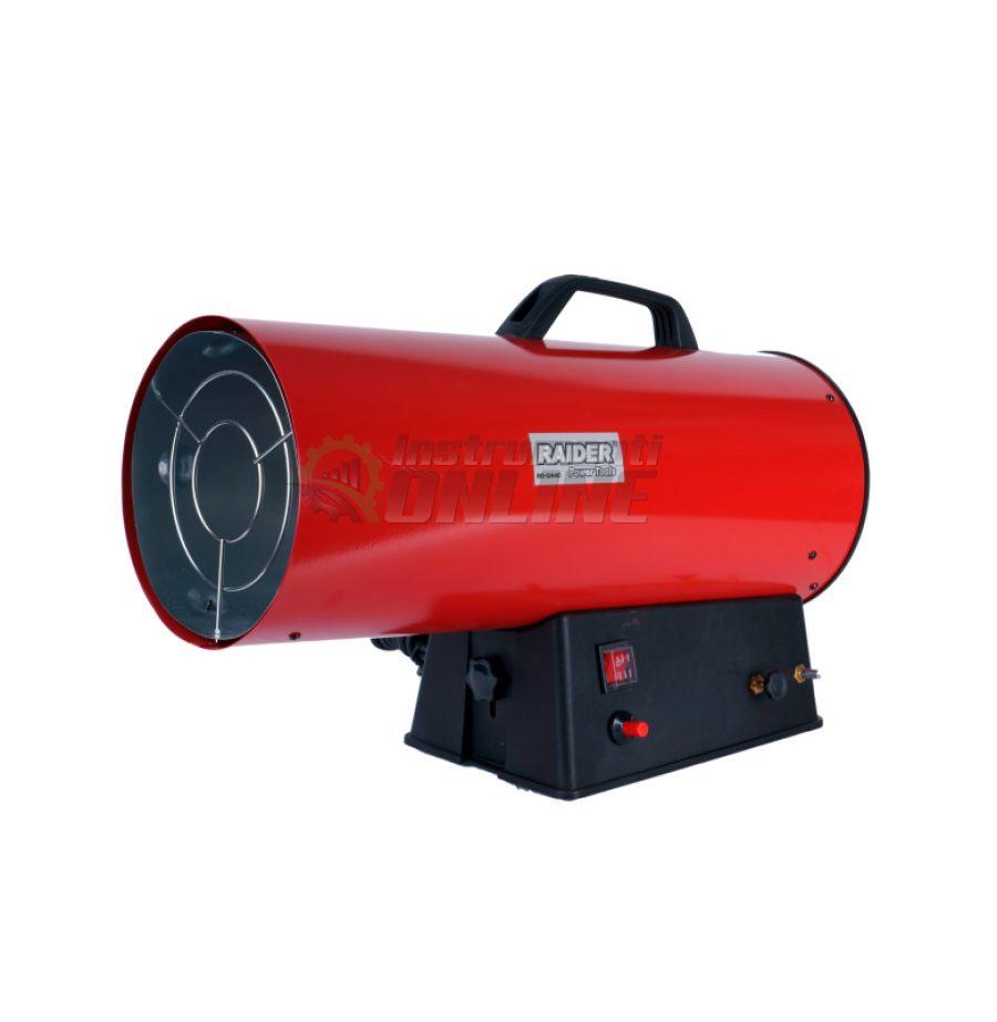 Калорифер на газ, 40kW, RD-GH40, Raider, калорифер газов, калорифер