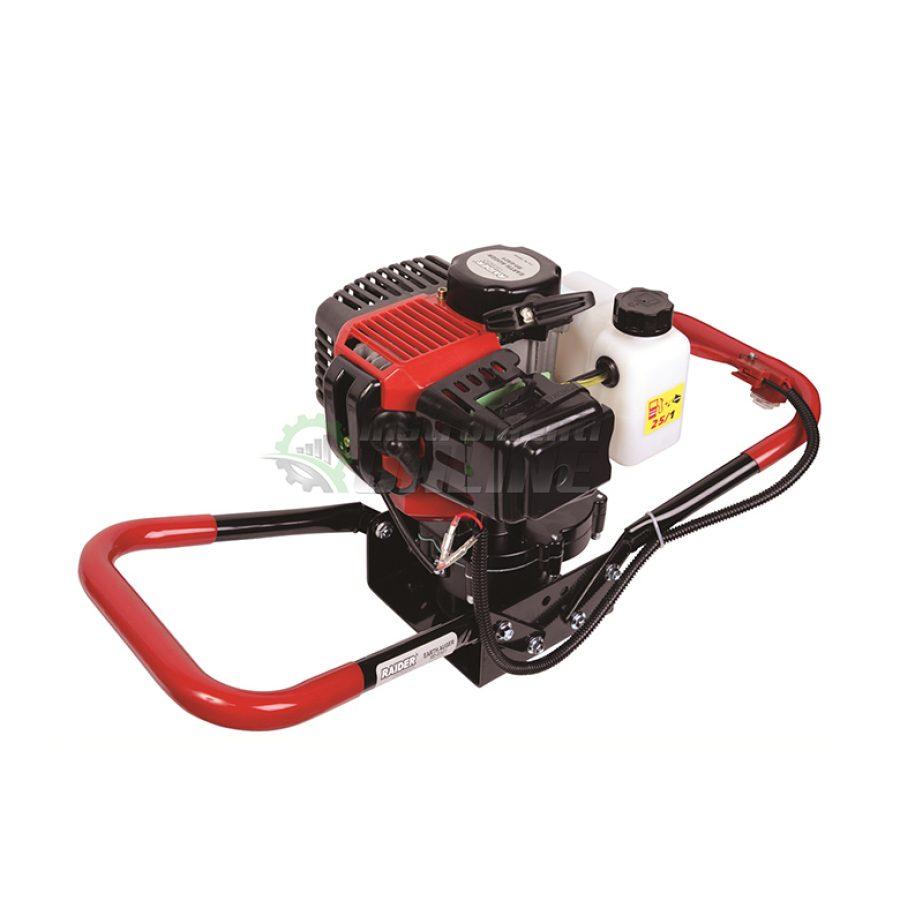 Моторен, свредел, 1.65 kW, ( 2.2 hp ), 52 cc, RD-EA01, Raider