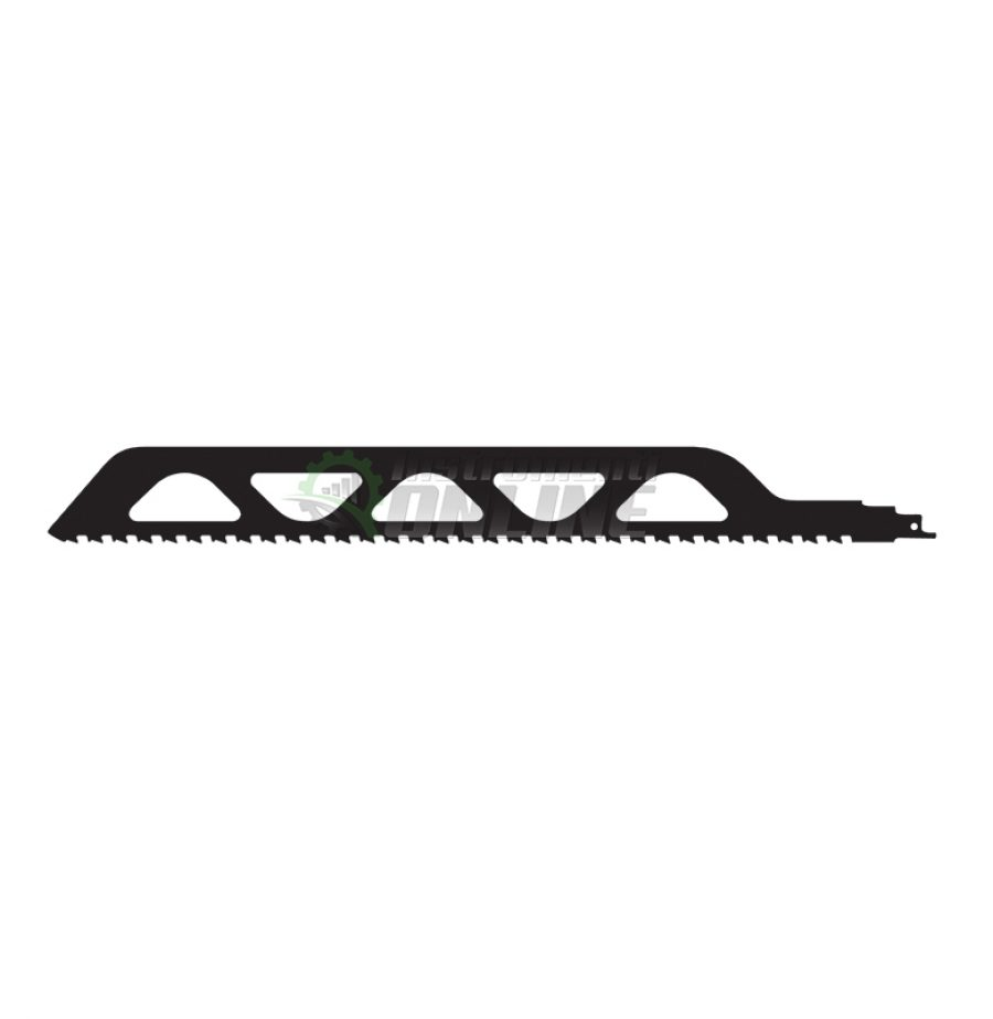 нож за трион, нож Raider, Нож за саблевиден, трион за тухли, 455 x 50 x 1.5 мм, TCT, 2TPI , 12.7 мм, RD-RS2243, Raider