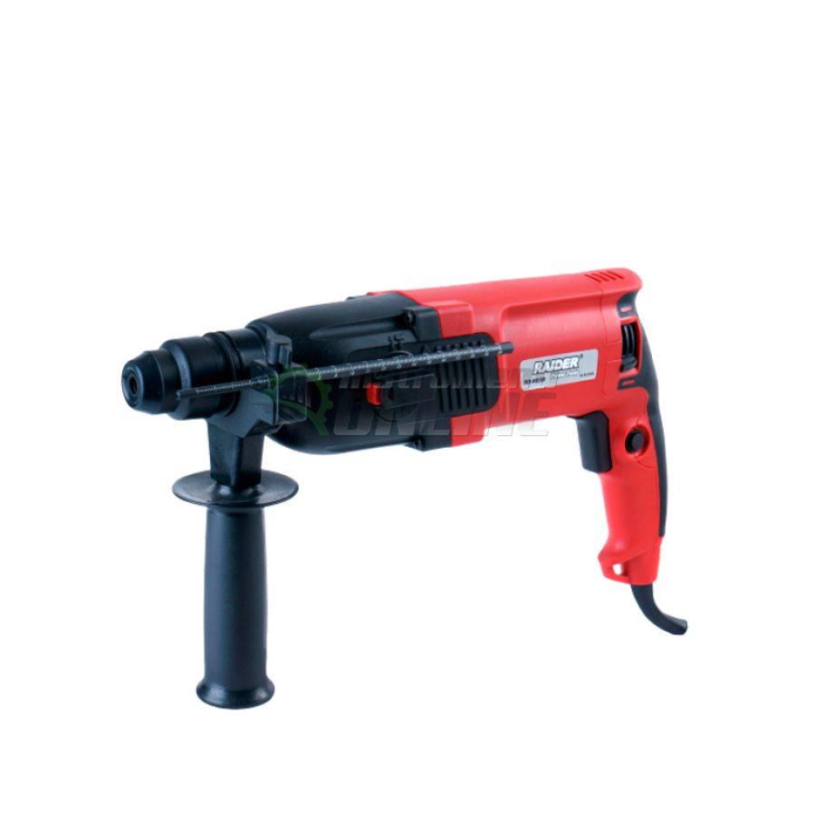 Перфоратор, 4 функции, регулируеми обороти, 800W, 26 мм, RD-HD38, Raider, перфоратор с регулируеми обороти