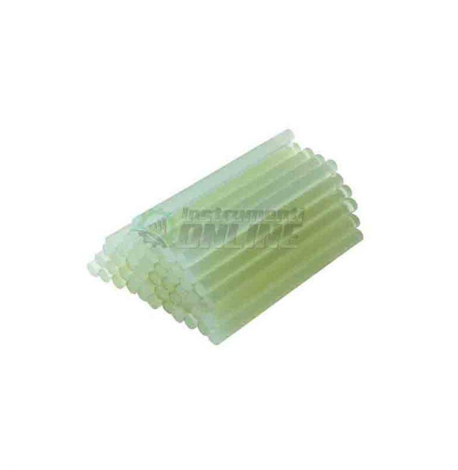 Прозрачни пръчици, прозрачни силиконови, силиконови пръчки, 11.00 х 200 мм, 6 броя, Raider, силиконови пръчици Raider