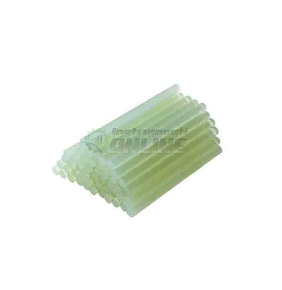 Прозрачни пръчици, прозрачни силиконови, силиконови пръчки, 7.2 х 200 мм, 8 броя, Raider, силиконови пръчици Raider
