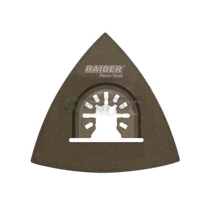 Шлифовъчна плоча, многофункционален инструмент, 80 мм, Carbide, Raider
