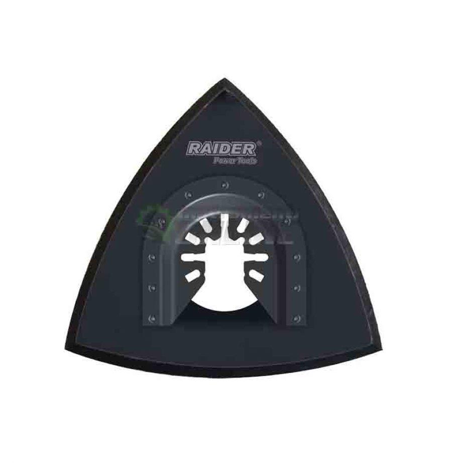 Шлифовъчна плоча, многофункционален инструмент, 93 мм, Velcro, Raider
