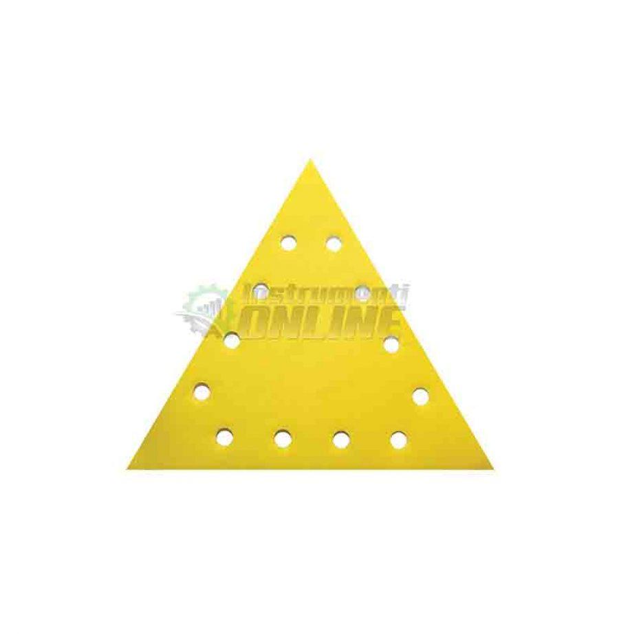 Шкурка, VELCRO, 285 мм, grit 120, Raider, шкурка raider, триъгълна шкурка, 5 pcs
