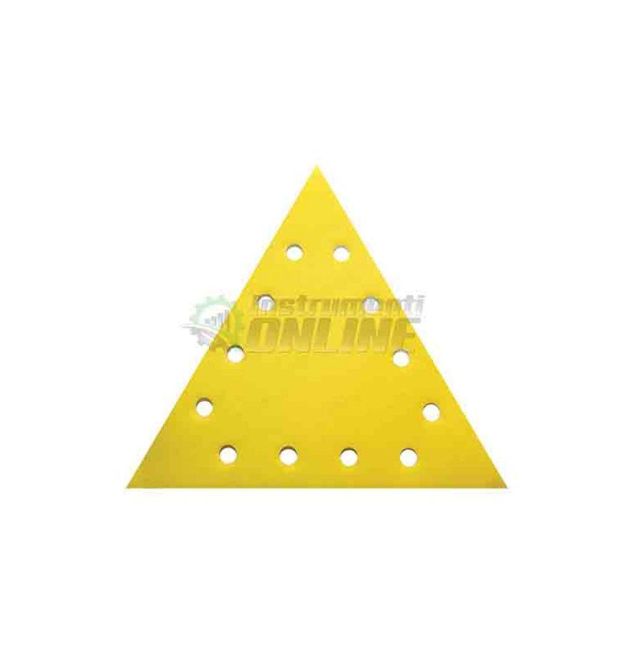 Шкурка, VELCRO, 285 мм, grit 150, Raider, шкурка raider, триъгълна шкурка, 5 pcs