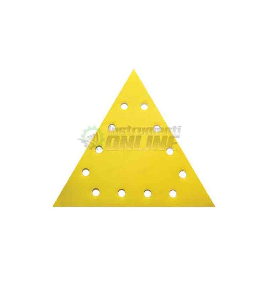 Шкурка, VELCRO, 285 мм, grit 180, Raider, шкурка raider, триъгълна шкурка, 5 pcs