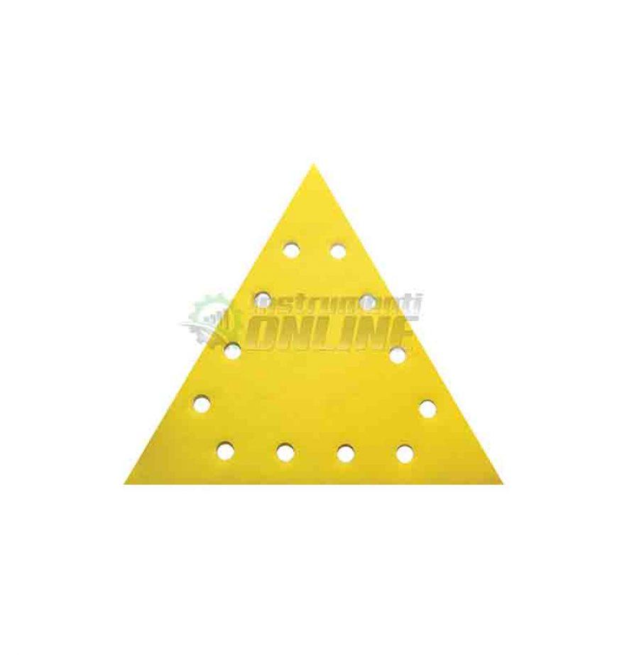 Шкурка, VELCRO, 285 мм, grit 80, Raider, шкурка raider, триъгълна шкурка, 5 pcs