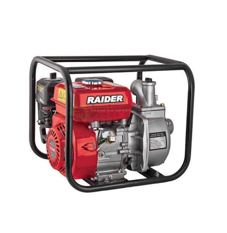 """Водна, бензинова, помпа, 4.10 kW, 2"""", RD-GWP01, Raider"""