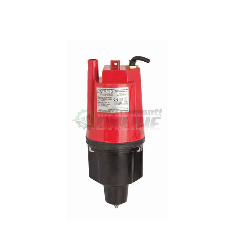 Водна потопяема помпа за чиста вода / 300 W, max 50 литра / минута, 60 метра / RD-WP19 Raider