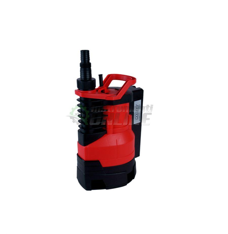 Водна, потопяема, помпа, мръсна вода, 400 W, max 150, 5 метра, RDP-WP28, Raider