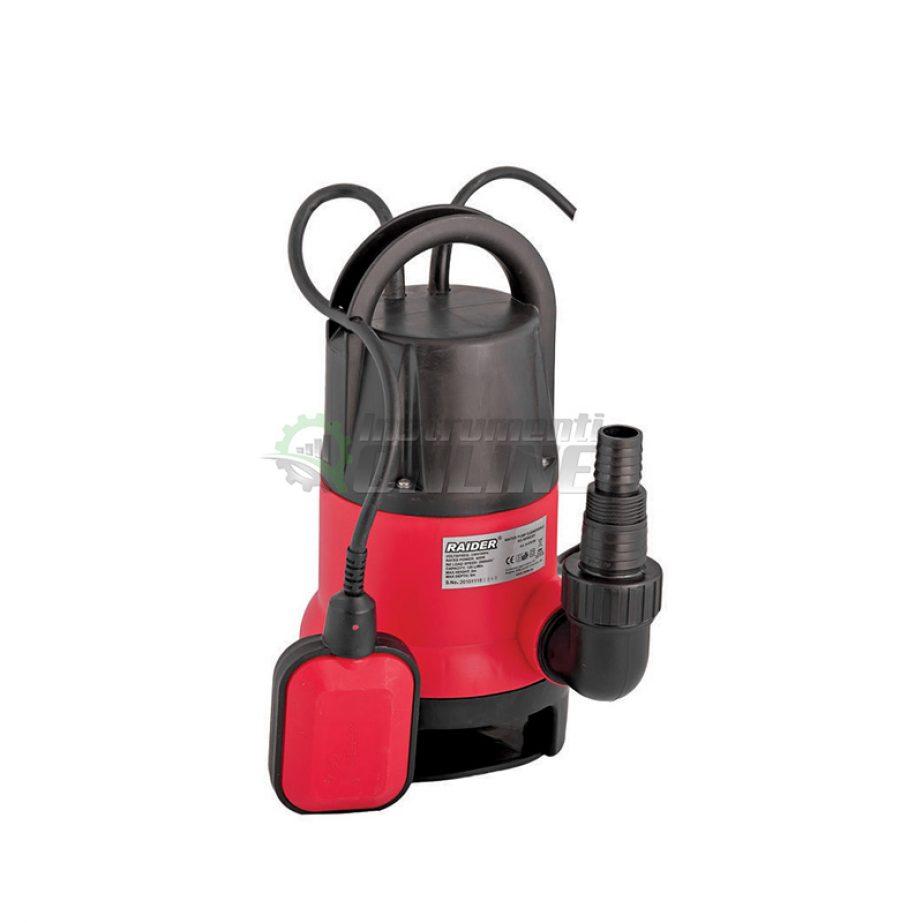 Водна, потопяема, помпа, мръсна вода, чиста вода, 400 W, max 133, 5 метра, WP002EX, Raider