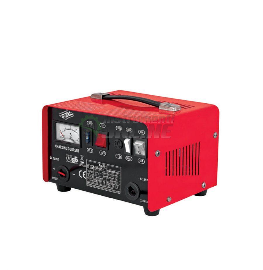 Зарядно, за акумулатор, 12/24V, 7/3.5A, RD-BC11, Raider, зарядно за акумулатор