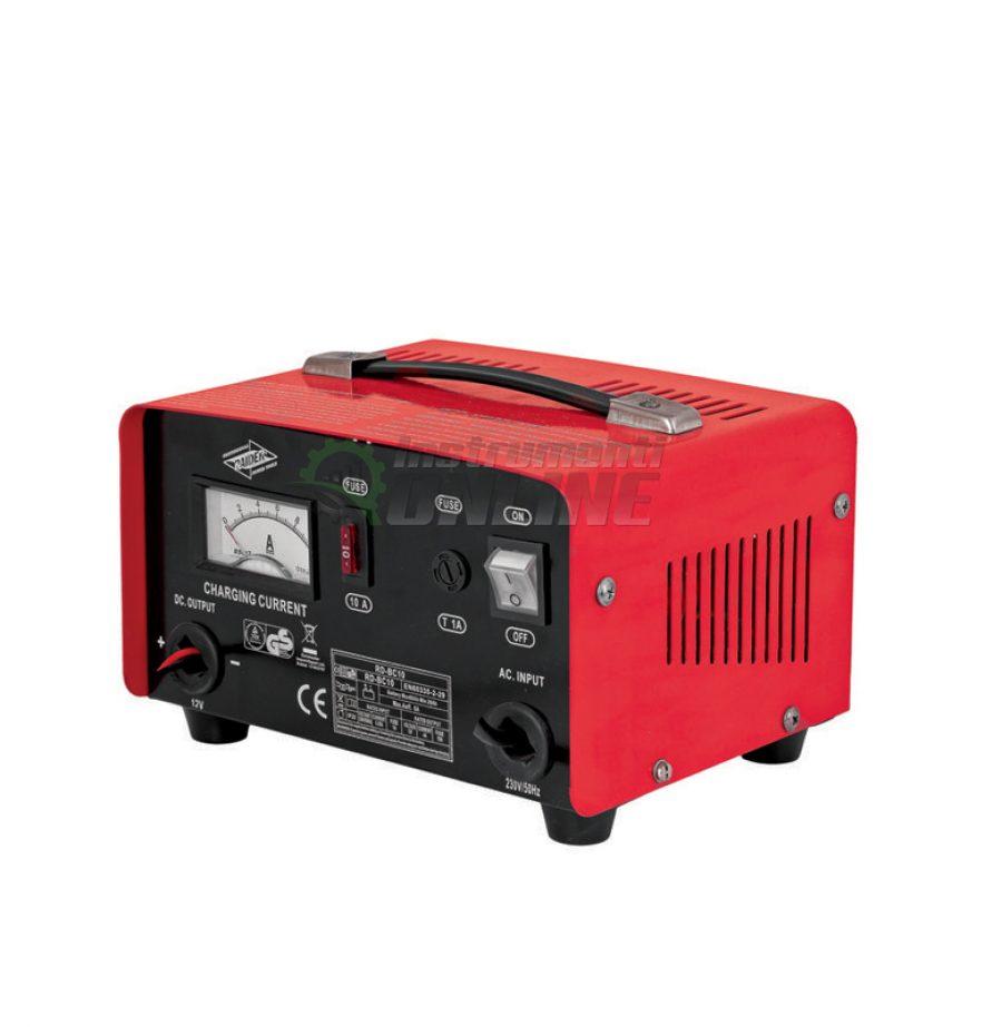 Зарядно, за акумулатор, 12V, 5A, RD-BC10, Raider, зарядно за акумулатор