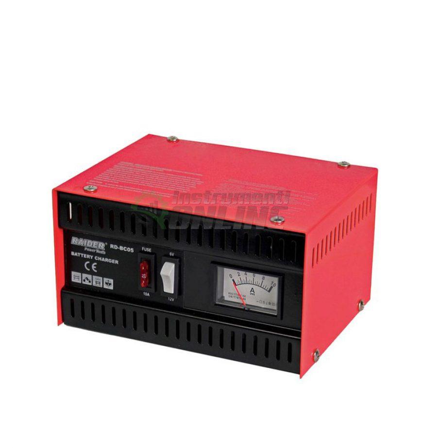 Зарядно, за акумулатор, 6/12V, 5A, RD-BC05, Raider, зарядно за акумулатор