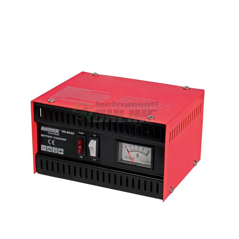 Зарядно за акумулатор 6/12V 5A RD-BC05 Raider