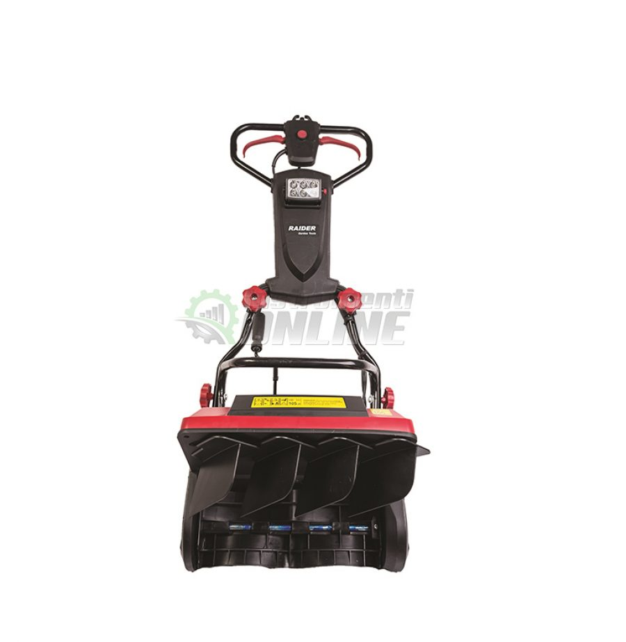Електрически, снегорин, LED-фар, 1300 W, 40 см, RD-ST02, Raider