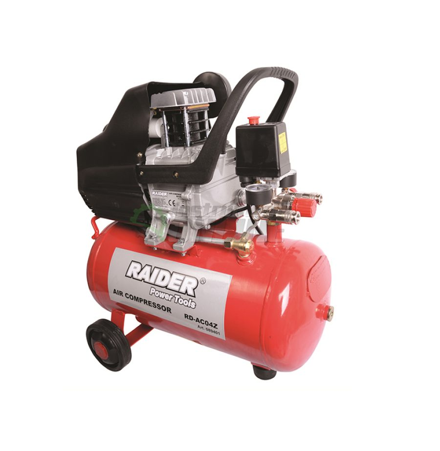 Компресор, 24 L, 1.5 kW, RD-AC04Z, Raider