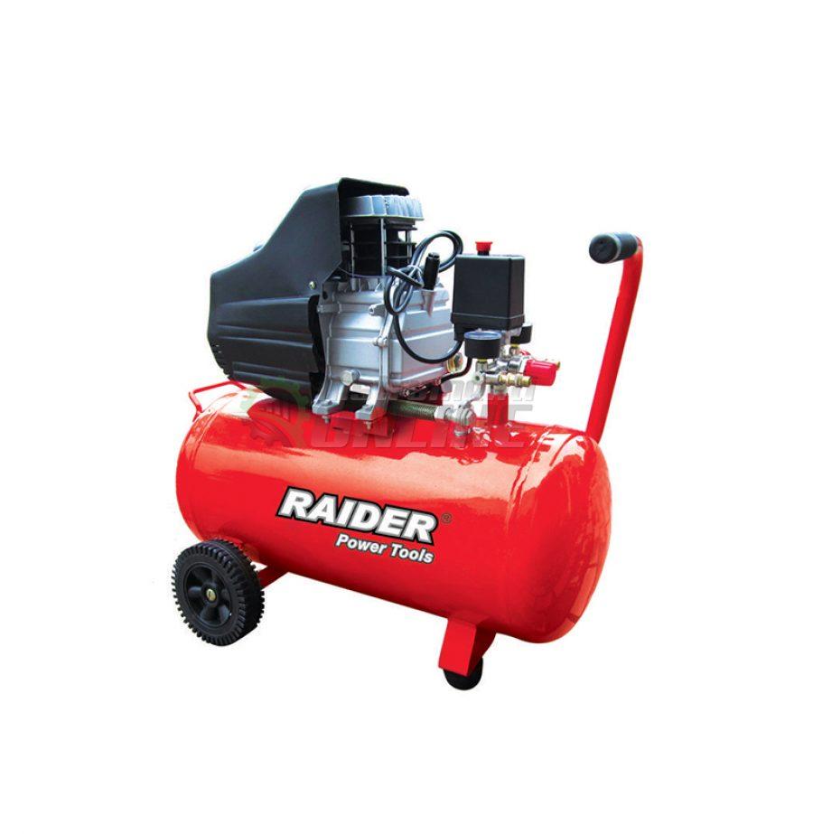 Компресор, 50 L, 1.5 kW, RD-AC02, Raider