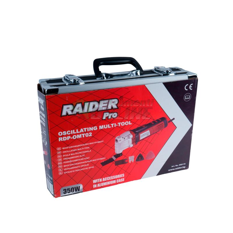 Многофункционален инструмент с регулируеми обороти 360W бърз захват Al RDP-OMT02 Raider