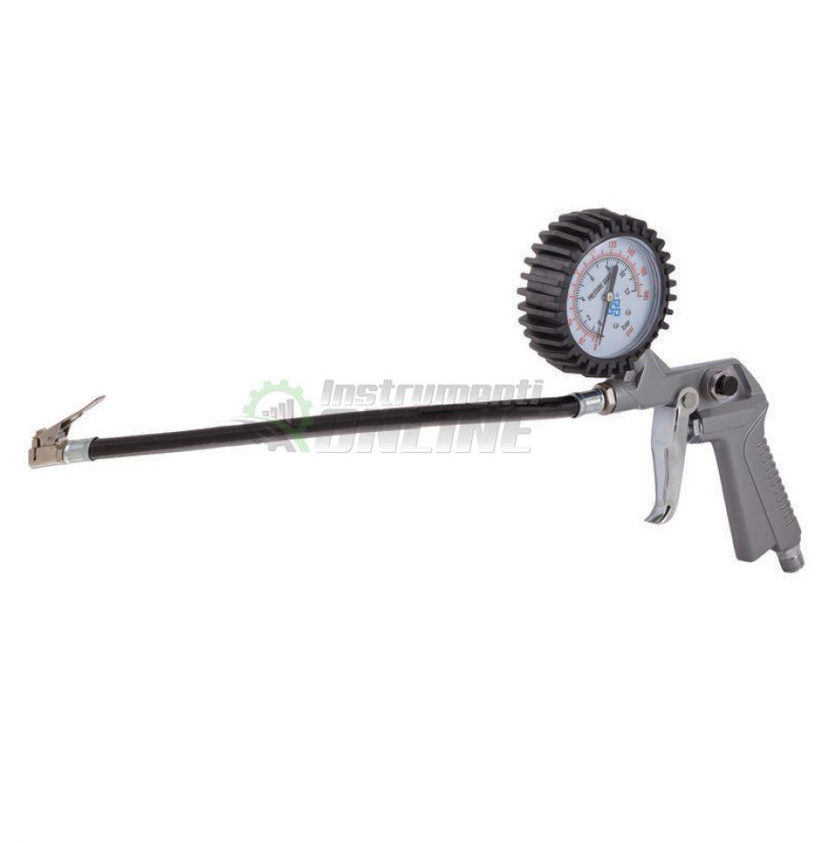 Пистолет за гуми, манометър, RD-TI01, Raider