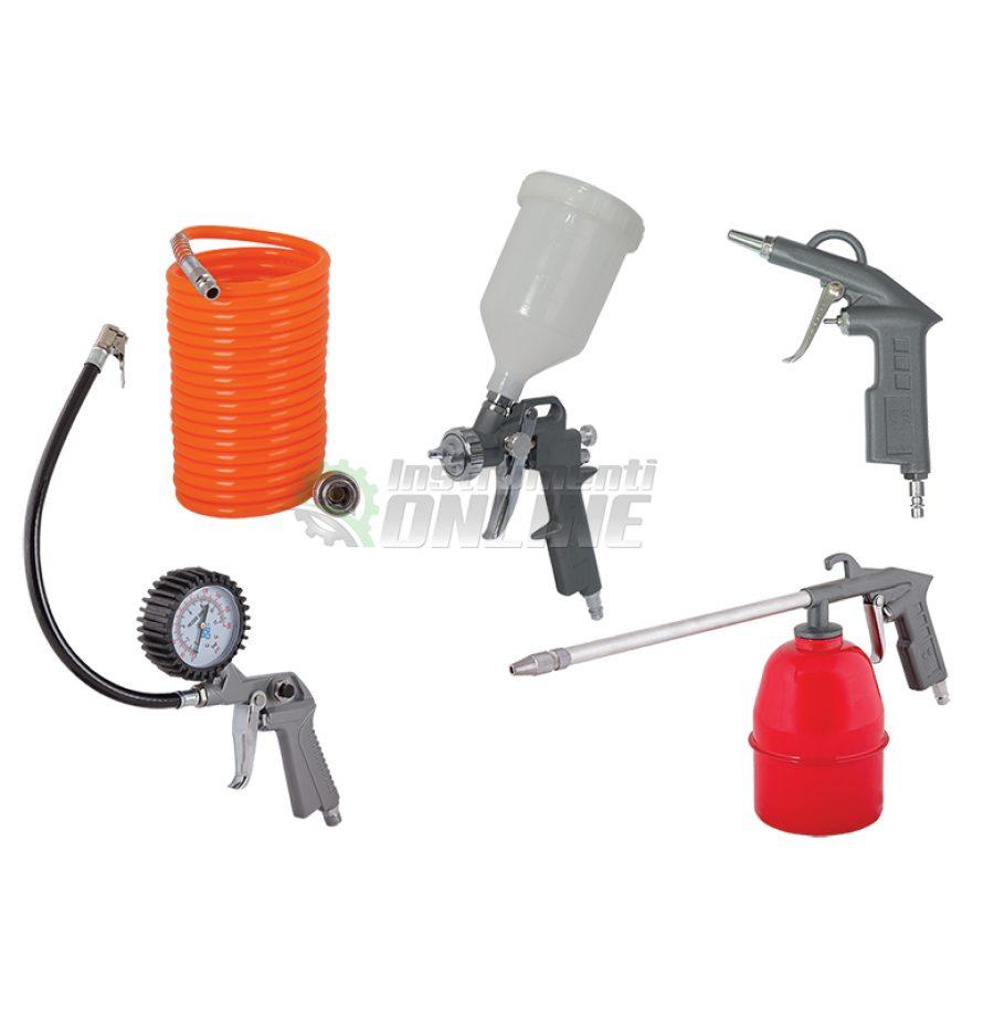 Пистолети, комплект, 5 броя, за боя, за въздух, RD-AT02, Raider