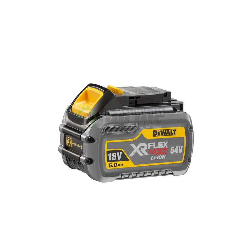 Батерия акумулаторна Li-Ion, 54.0/ 18.0 V, 2.0/ 6.0 Ah, DeWALT, батерия, батерия Li-Ion