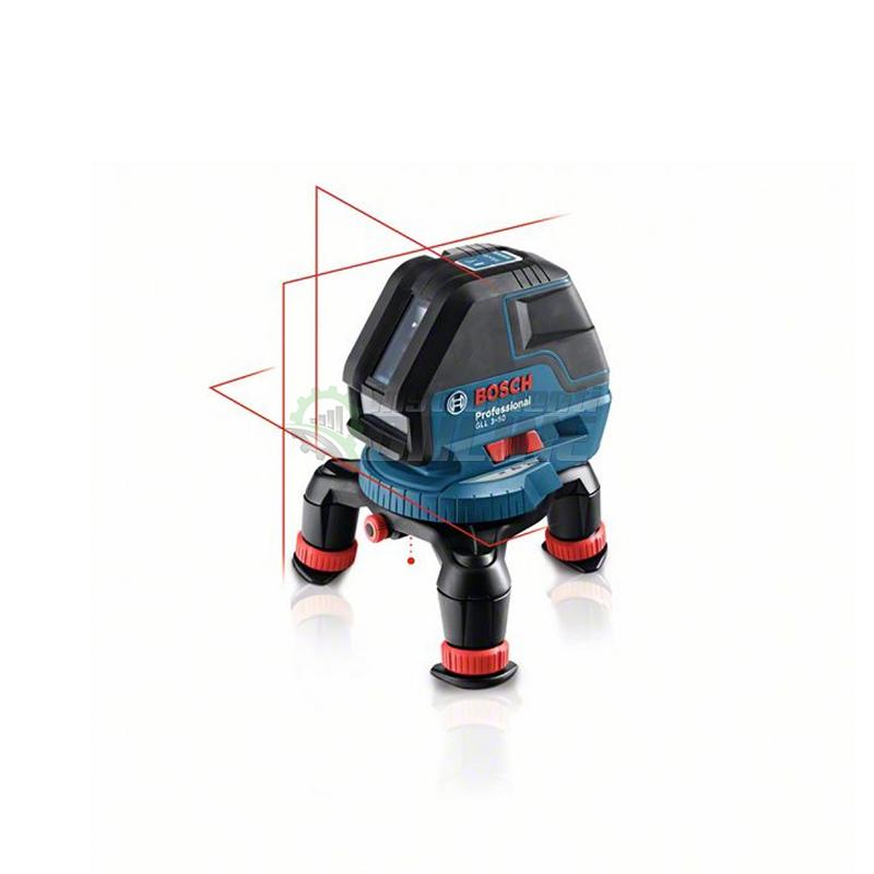 Лазерен нивелир, три линии, GLL 3-50, възможност, до 50 м, Bosch