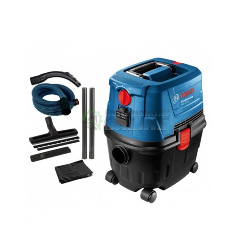 Професионална прахосмукачка за сухо и мокро почистване GAS 15 / 1 100 W / Bosch