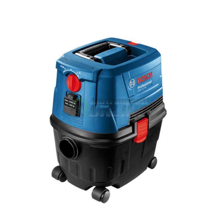 Професионална, прахосмукачка, сухо и мокро, почистване, GAS 15 PS, 1100 W, Bosch