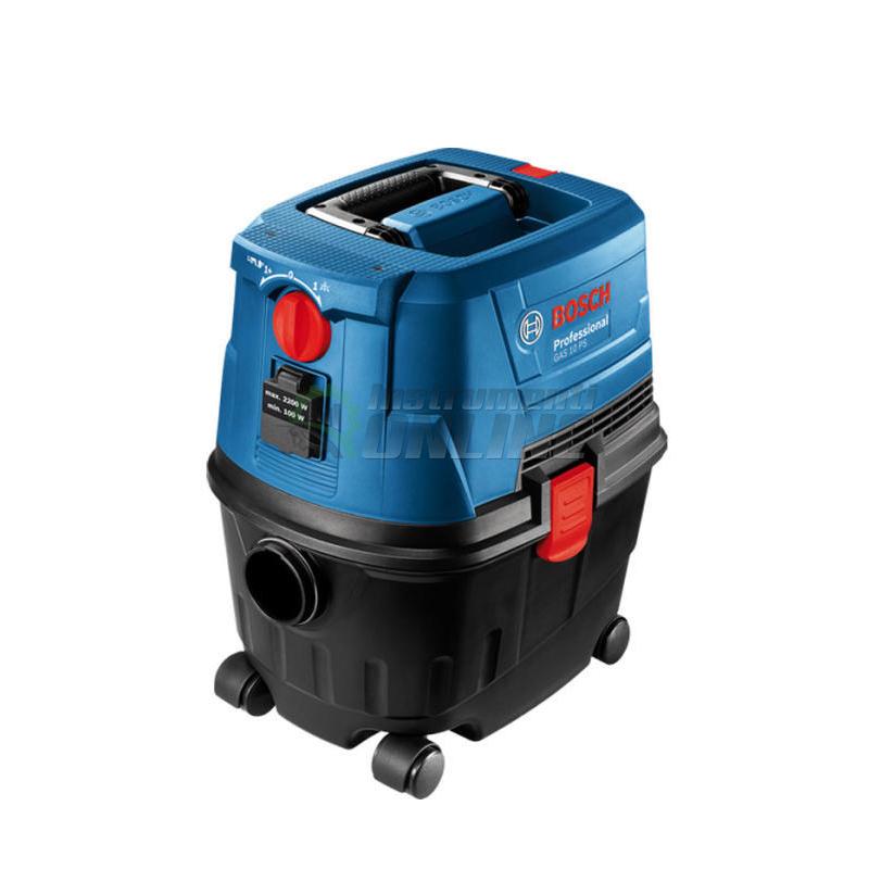 Професионална прахосмукачка за сухо и мокро почистване GAS 15 PS / 1100 W / Bosch