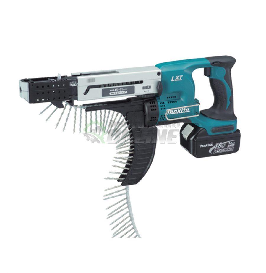 Акумулаторен автоматичен, винтоверт, 18 V, DFR750RFE, Makita