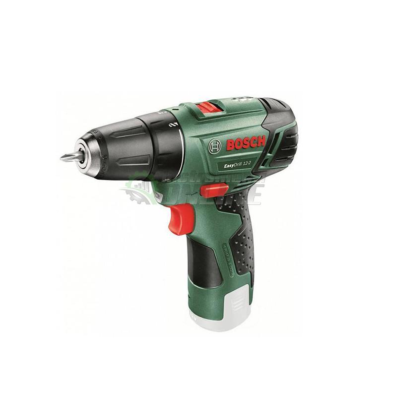 Акумулаторен, пробивен, винтоверт, 12 V, EasyDrill, 12-2, SOLO, Bosch