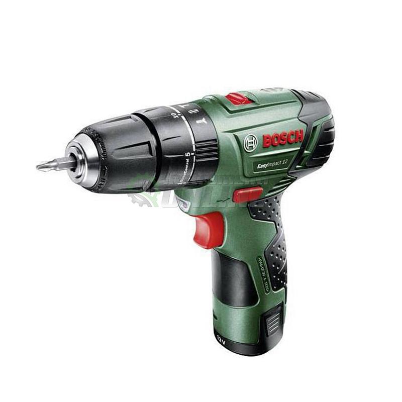 Акумулаторен, пробивен, винтоверт, 12 V, EasyDrill, 1200, Bosch