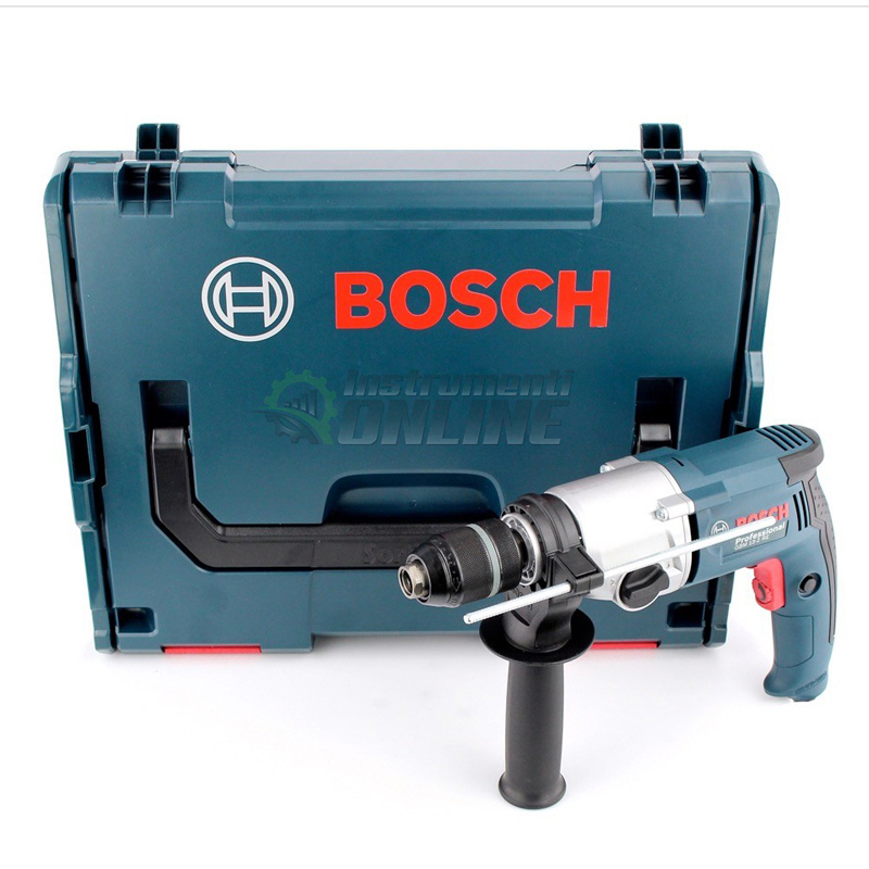Бормашина Bosch, GBM 13-2 RE, 750 W, с куфар L-Boxx, бормашина, Bosch