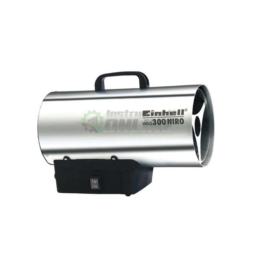 Газов калорифер, калорифер с редуцир, редуцир вентил, 30 KW, HGG, 300 Niro, Einhell