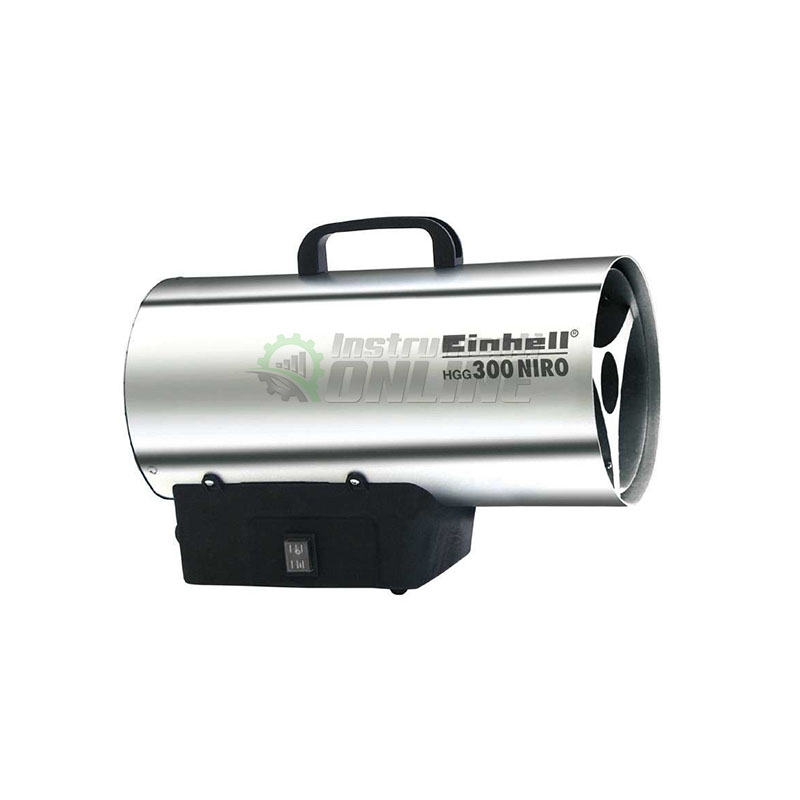 Газов калорифер с редуцир вентил / 30 KW / HGG 300 Niro Einhell