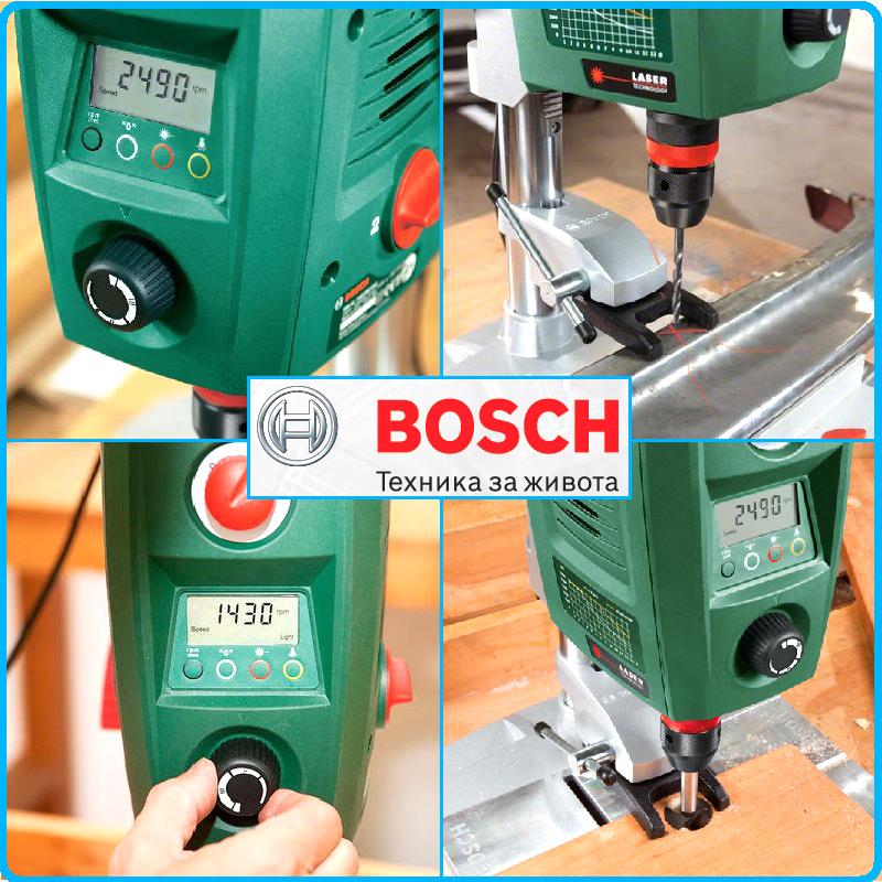 Настолна бормашина, колонна бормашина, 710 W, PBD 40, Bosch